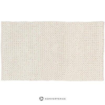 Белый шерстяной ковер (jella & jorg) (в коробке, целиком)
