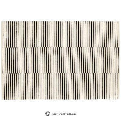 Juodai baltas vilnos kilimas (mandulay) (dėžutėje, visas)