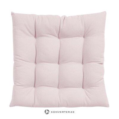 Vaaleanpunainen istuintyyny (avautuva)
