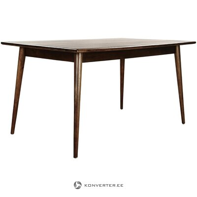 Solid wood dining table (anderson)