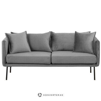 Pelēks samta dīvāns (efeja) (bojāts zāles paraugs)
