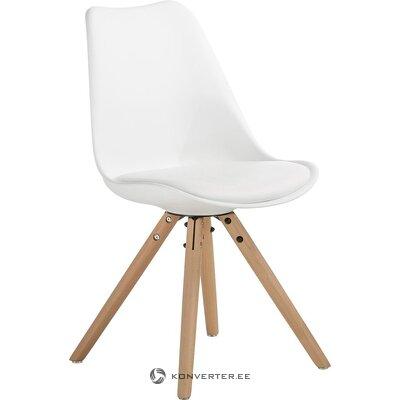 Baltbrūns krēsls (Jella & Jorg) (vesels, kastē)