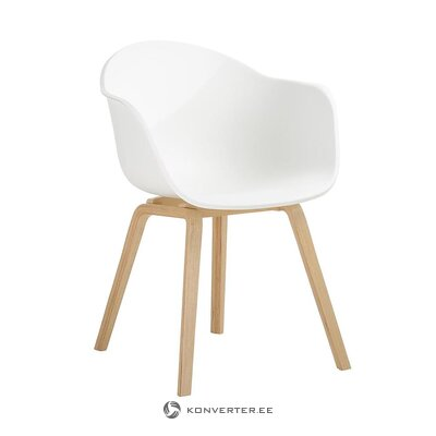White-brown chair (claire) (sample)