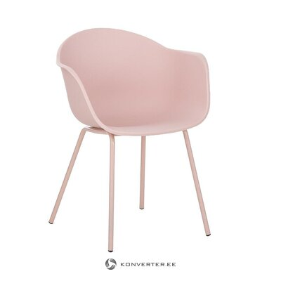 Pink chair (claire) (with beauty defect, hall sample)