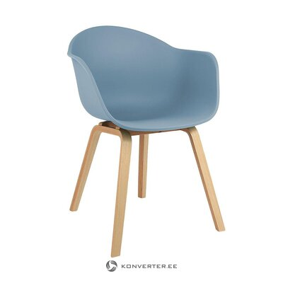 Blue-brown chair