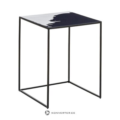 Black metal coffee table (amalia)