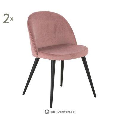 Мягкое розовое бархатное кресло (андерсон) (здоровое проба)