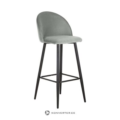Gray-black bar stool (anderson) (whole, in box)