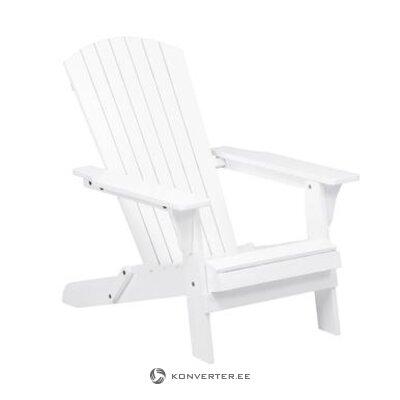 Baltoji akacijos sodo kėdė (charlie) (visa, dėžutėje)