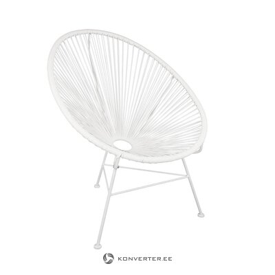 White design chair (bahia) (whole, in box)