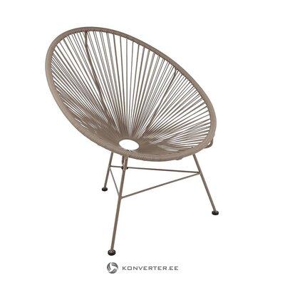 Beige design chair (bahia)