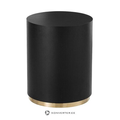 Black-gold coffee table (clarice) (in box, whole)