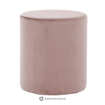 Vaaleanpunainen sametti käsipaino (koko, näyte)