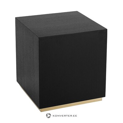 Black-gold coffee table (clarice) (whole, in a box)