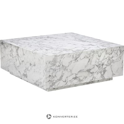 Marble imitation coffee table (lesley) (hall sample small beauty defect)
