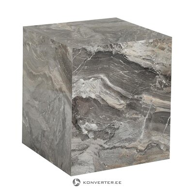 Gray marble imitation coffee table (lesley) (whole, in a box)