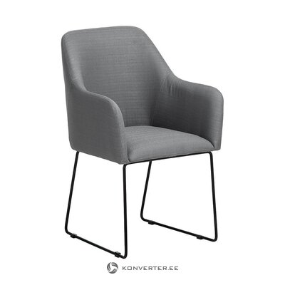 Gray-black chair (isla) (whole, in box)
