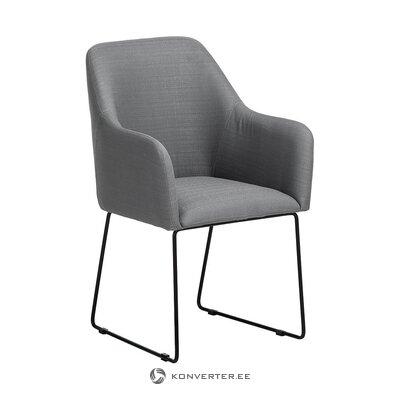 Pelēks-melns krēsls (isla) (zāles paraugs mazs skaistuma defekts)