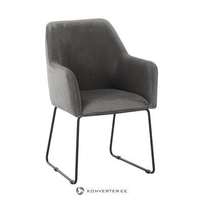 Pelēks-melns krēsls (isla) (zāles paraugs mazas kļūdas)