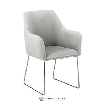Light gray armchair (with beauty defects hall sample)