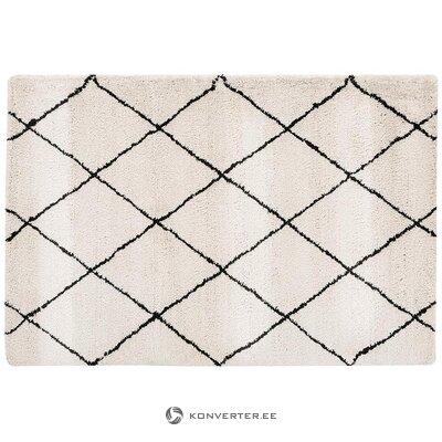 Bēšs-melns paklājs (precēties) (kastē, vesels)