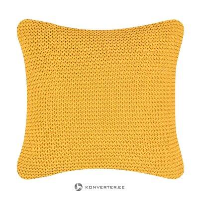Keltainen koristeellinen tyynyliina (adalyn) (koko, laatikossa)