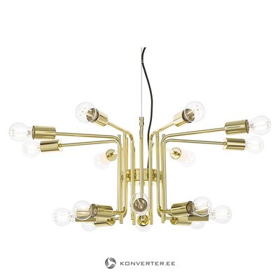 Gold pendant light (anderson)