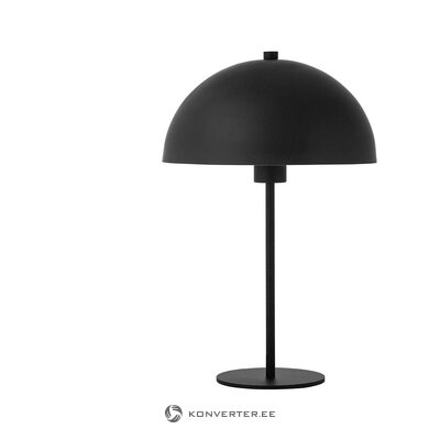 Black table lamp (matilda) (with defects., Hall sample)