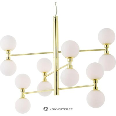 Golden ceiling light (grover) (whole, in box)