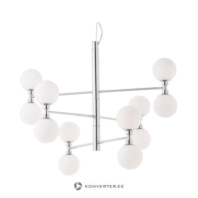 White-silver pendant luminaire (grover) (whole, in box)