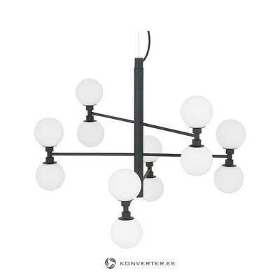 Black and white pendant light (grover) (whole, in box)
