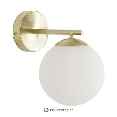 White-gold wall lamp (liv) (in box, intact)