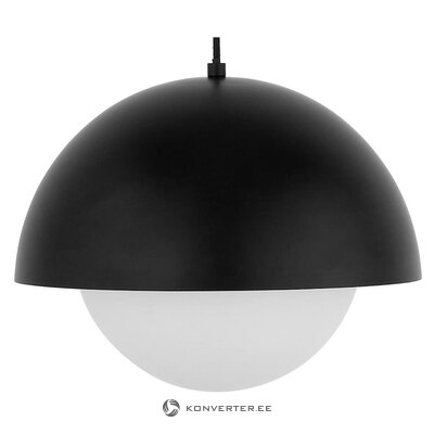 Black and white pendant light (lucille) (whole, in box)