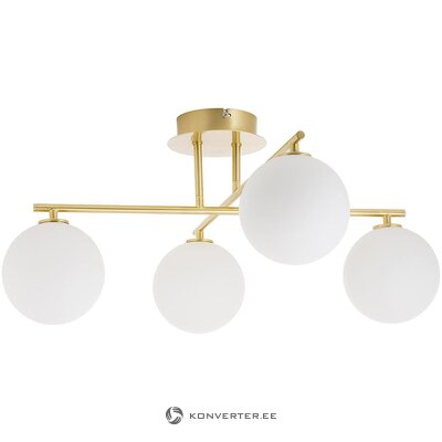 White-gold ceiling lamp (atlanta) (intact)