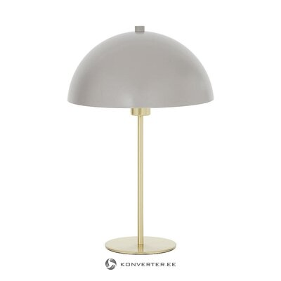 Beige-gold table lamp (matilda) (in box, whole)