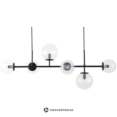 Black pendant light (casey) (whole, in box)