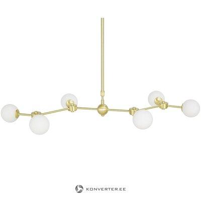Baltā zelta kulona gaisma (aurelia) (ar skaistuma defektiem., Kastē)