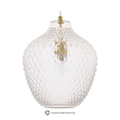 Glass pendant light (lee) (whole, in box)