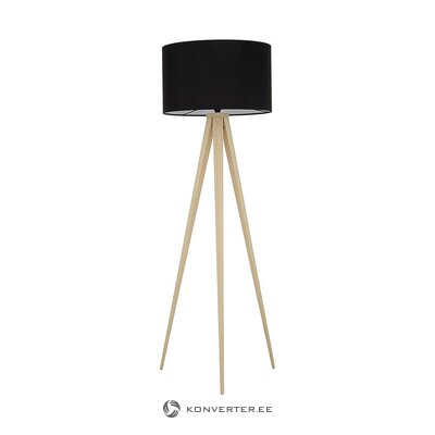 Black-brown floor lamp (jella & jorg) (whole, in box)