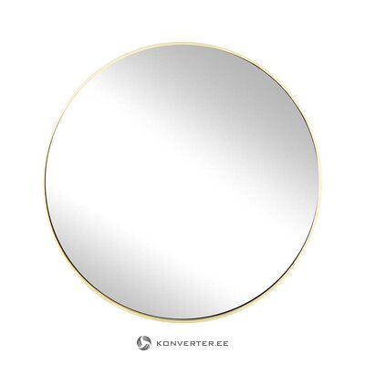 Gold framed wall mirror (ada) (in box, whole)
