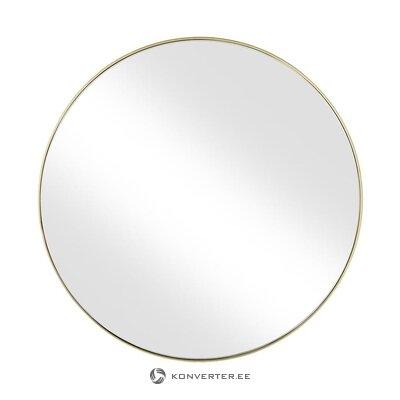 Zelta rāmja sienas spogulis (ada) (kastē, vesels)