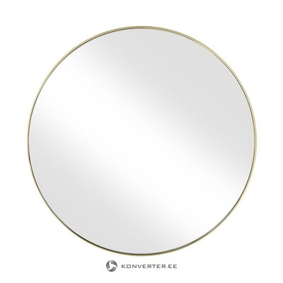 Auksinis rėmuotas sieninis veidrodis (ada) (salės pavyzdys, visas)