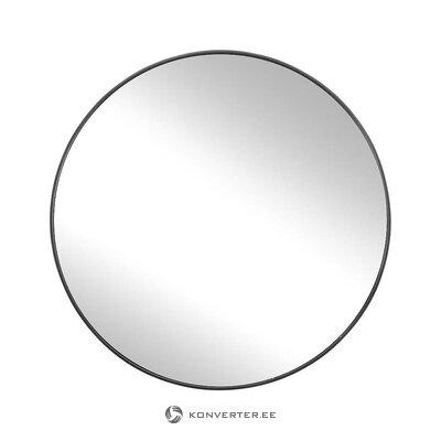 Темно-серое настенное зеркало в раме (ada)