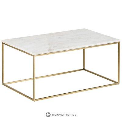 Marmorinen sohvapöytä (alys) (kokonainen, laatikossa)