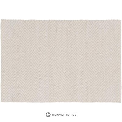 Beige patterned rug (jella & jorg) (in box, whole)