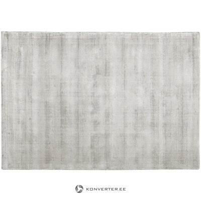 Light gray-beige viscose rug (jane)