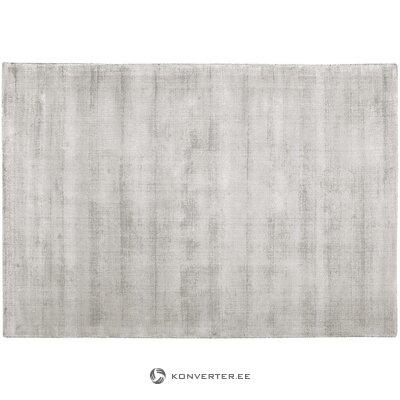 Gaiši pelēks-smilškrāsas viskozes paklājs (jane) (vesels, zāles paraugs)