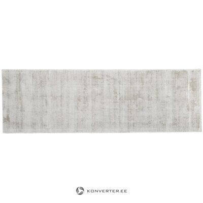 Light gray-beige viscose carpet (jane) (in box, whole)