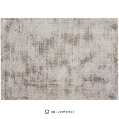 Gray-brown viscose carpet (jane) 160x230cm (in the box with beauty defects)
