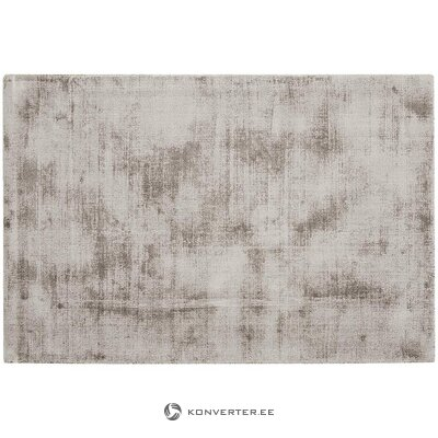 Gray-brown viscose carpet (jane) (whole, in box)